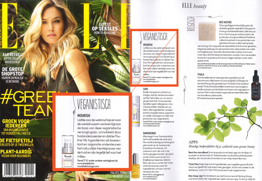 Nourish in ELLE mei15