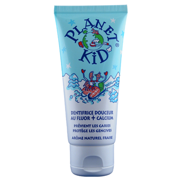 Planet Kid toothpaste